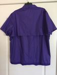 Nike Quarter Zip Hot Jacket Short Sleeve Purple - Teammvpsports