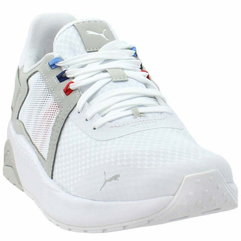 PUMA Mens BMW MMS Anzarun Lace Up Sneakers Casual Sneakers, White, 10