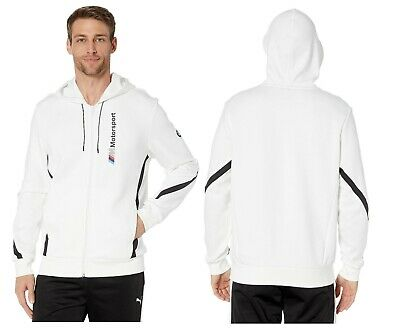 MEN'S PUMA BMW MOTORSPORT MMS HOODIE SWEAT ZIP JACKET - Teammvpsports