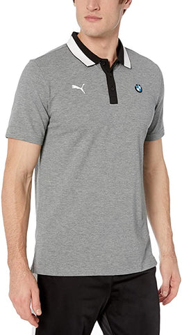 Puma BMW MMS Polo Medium Gray Heather Size L - Teammvpsports