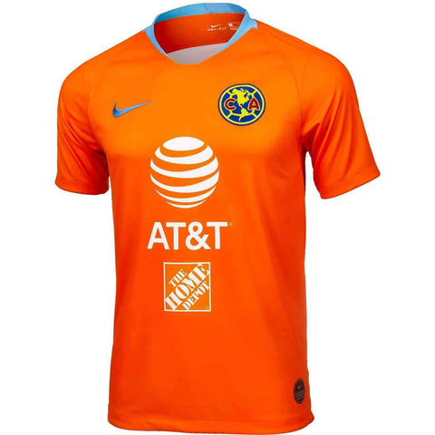 Nike Club America 3rd Jersey Orange. - Teammvpsports