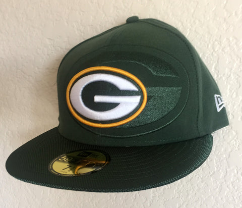 New Era Green Bay Packers Green 59FIFTY Cap Size 7 1/2 - Teammvpsports
