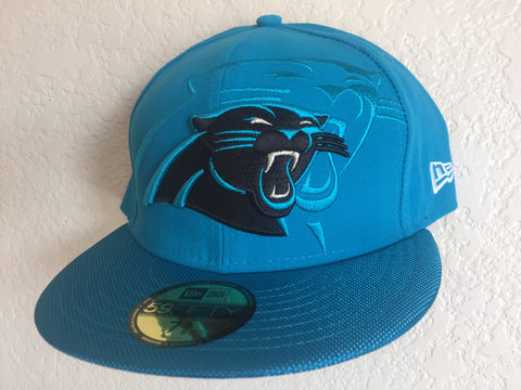 New Era Los Angeles Carolina Panthers 59FIFTY fitted cap Size 7 3/8 - Teammvpsports