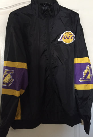 NBA Los Angeles Lakers Black Full Zip Jacket - Teammvpsports