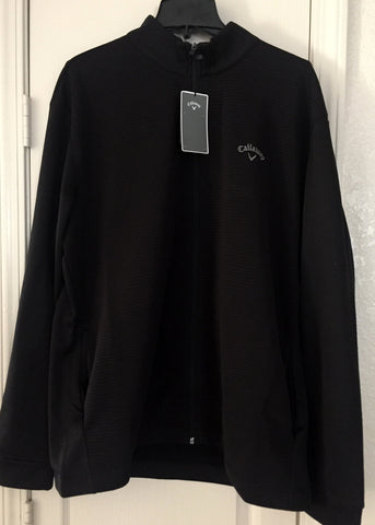 Callaway Full Zip Golf Jacket Black Size 2XL. XL - Teammvpsports