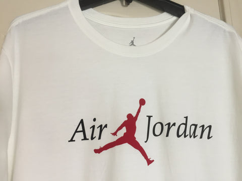 Nike Jumpman Air Jordan White Short Sleeve Tee Shirt Size 2XL - Teammvpsports