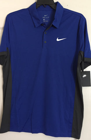 Nike Dri Fit Golf Polo Shirt Blue - Teammvpsports