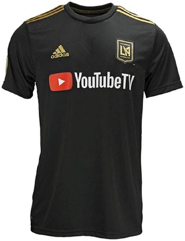 adidas Los Angeles Football Club Home Jersey - Men's Soccer
