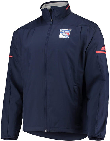 adidas New York Rangers NHL Men's Penalty Box Full Zip Rink Jacket