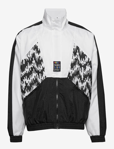 Puma TFS 90's Retro Style Track Jacket Black/White Men's 597042 01