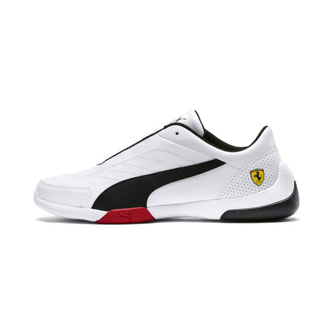 Puma Scuderia Ferrari Kart Cat III Men's Shoes Black White - Teammvpsports