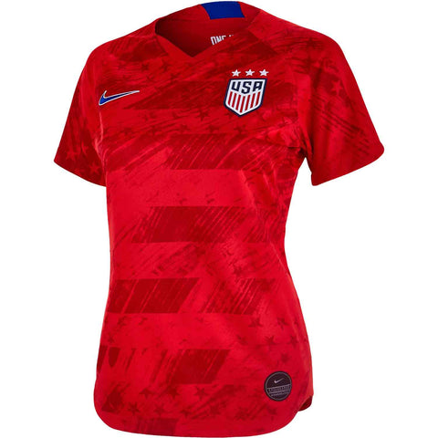Nike USA Red FIFA Women's 2019 World Cup Away Jersey - Teammvpsports