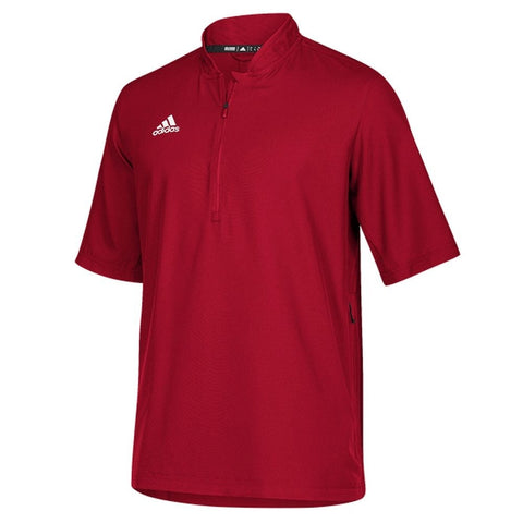 adidas Team Iconic Short Sleeve Quarter-Zip Polo - Men's Multi-Sport - Teammvpsports