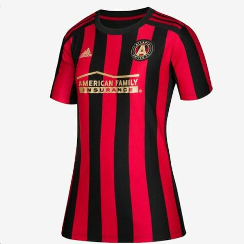 adidas 2019 Atlanta United Home Womens Replica Jersey, Black/Victory Red, Size L