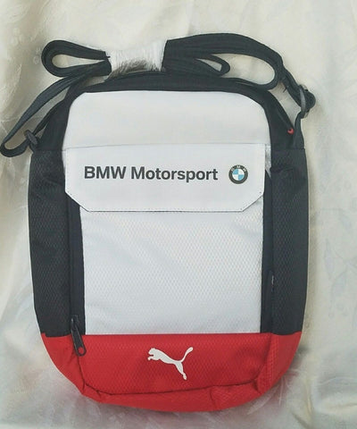 Puma BMW Motorsports Portable Bag , New Blue White Red - Teammvpsports