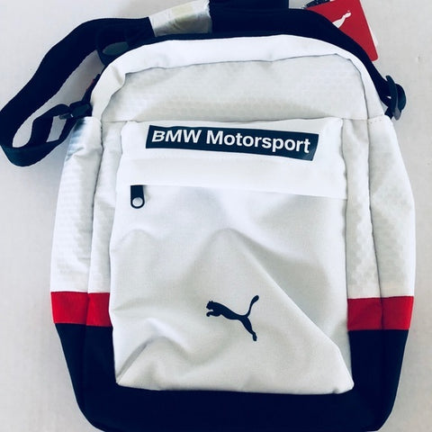 Puma BMW Motorsports Portable Bag , Blue White Red New - Teammvpsports