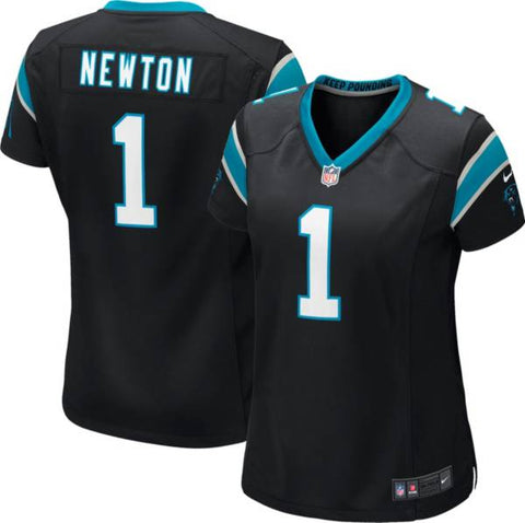 Nike Women's Home Game Jersey Carolina Panthers Cam Newton Size L