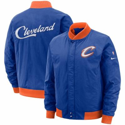 NIKE CLEVELAND CAVALIERS COURTSIDE CITY EDITION BOMBER JACKET sz 3XL