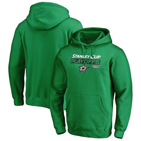 Dallas Stars Fanatics Branded 2019 Stanley Cup Playoffs Green Hoodie Size L - Teammvpsports