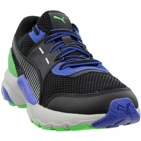 Puma Future Runner Premium Casual Running Shoes - Black - Mens
