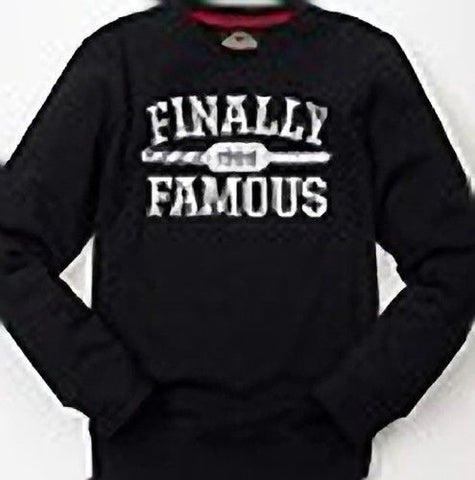 Ecko Big Sean Men's Finally Famous Black Crewneck Sweatshirt Sizes L, XL, 2XL - Teammvpsports
