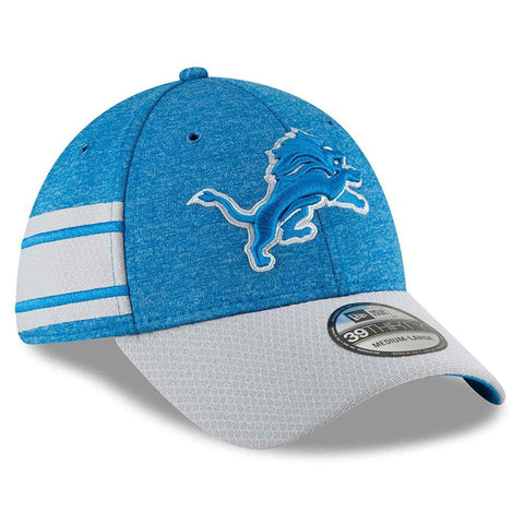 New Era Detroit Lions Official Sideline Home 39THIRTY Stretch Fit Cap, L/XL - Teammvpsports