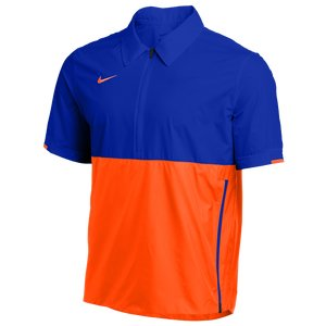 Nike Team Authentic Lightweight Coaches Jacket - Men's Game Royal Team Orange