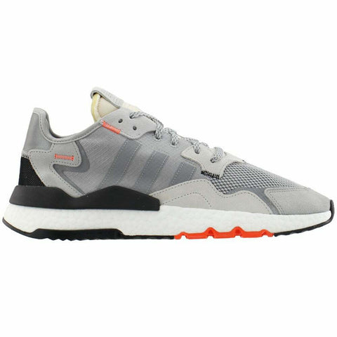 adidas Originals Nite Jogger Boost Grey White Orange Men