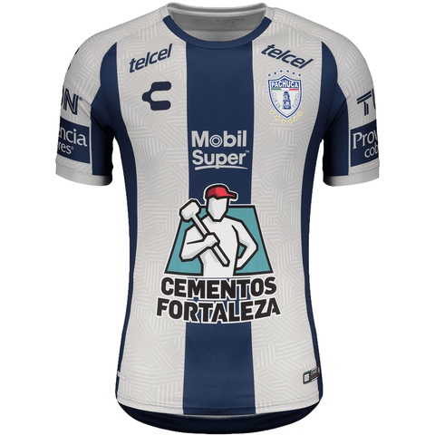 Charly Club Pachuca 2020 - 2021 Home Soccer Jersey