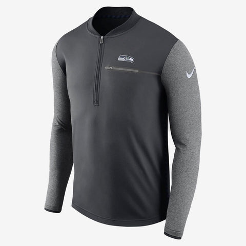 Nike Seattle Seahawks Sideline Coaches Performance Half Zip Jacket Size M, L - Teammvpsports