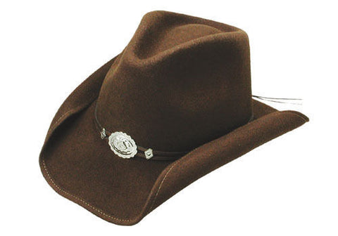 Stetson - Crushable Shapable - HOLLYWOOD DRIVE - Driftwood Brown Color Size L - Teammvpsports
