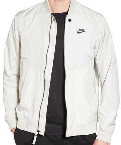 Nike Franchise Varsity Jacket Light Bone Color Size XL, 2XL  MSRP $120 - Teammvpsports