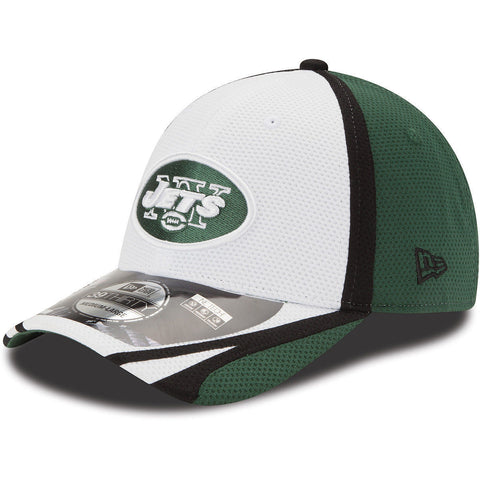 New Era Men's New York Jets Training Camp 39THIRTY Stretch Fit Cap Size L/XL - Teammvpsports