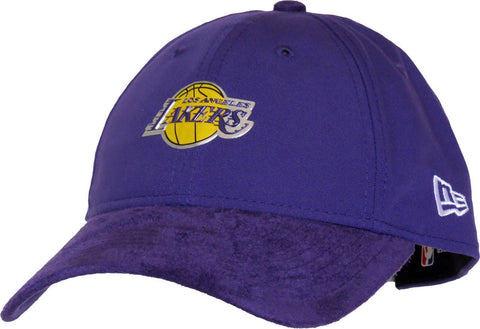 Los Angeles Lakers New Era On-Court Collection 9TWENTY Cap Adjustable Purple - Teammvpsports
