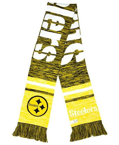 Pittsburgh Steelers Forever Collectibles Mens Knit Color Blend Scarf - Teammvpsports