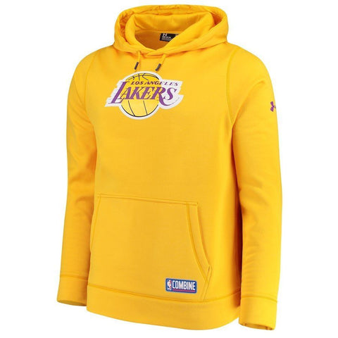 Under Armour Los Angeles Lakers Performance Fleece Hoodie Men's Size  L, XL - Teammvpsports