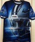 Dallas Cowboys Authentic Twain Sublimation Tee Shirt Size M - Teammvpsports