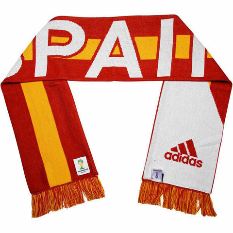 Adidas Spain World Cup Soccer Scarf - Teammvpsports