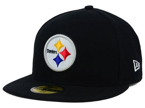 New Era 59Fifty Pittsburgh Steelers Fitted Cap  Size 7 3/8 - Teammvpsports