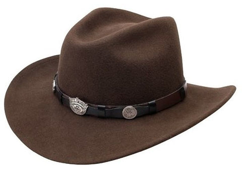 Jack Daniels Crushable Brown Black Cowboy Western Hat Water Resistant M L XL 2XL - Teammvpsports