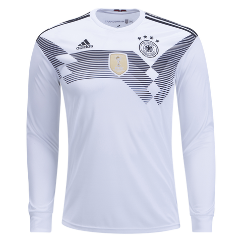 Adidas Germany Natl Soccer Team Long Sleeve 2018 Home Jersey Size XL - Teammvpsports