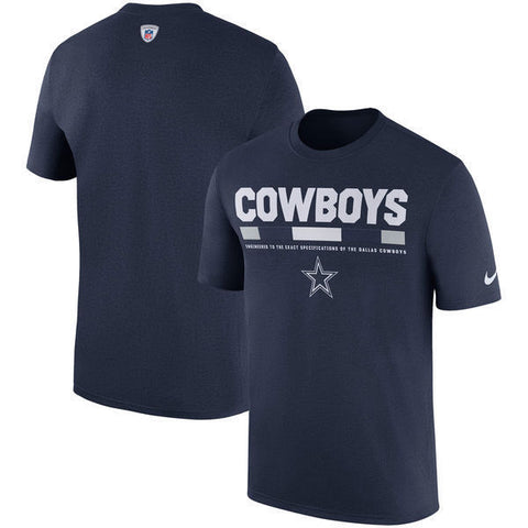 Nike Dallas Cowboys Sideline Legend Staff Performance Shirt L - Teammvpsports