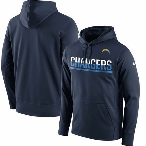Nike Los Angeles Chargers Pullover Circuit Hoodie Sizes L, - Teammvpsports
