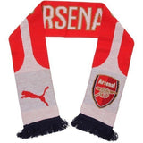 Puma The Arsenal FC Fan Scarf - High Risk Red-White-Estate Blue - Teammvpsports
