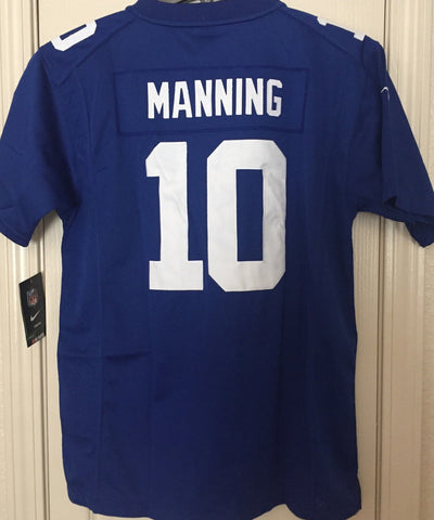 Nike New York Giants Eli Manning #10 Limited (Stitched) Jersey Youth Size XL - Teammvpsports