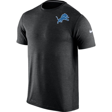 Nike Detroit Lions Dri Fit Touch Black Shirt Size L - Teammvpsports