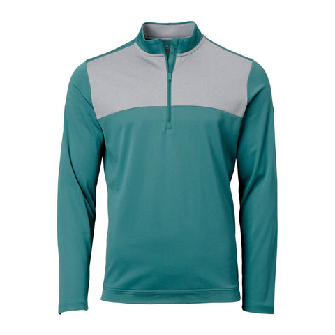 Adidas Climawarm Novelty 1/4 Zip Golf Pullover Forrest Green Size 2XL - Teammvpsports