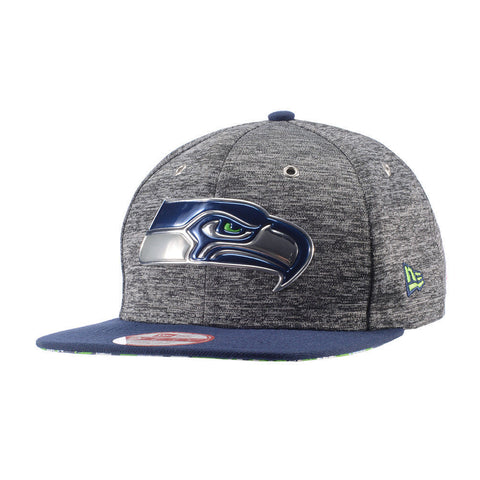 Seattle Seahawks New Era 9FIFTY 2016 NFL Draft On Stage Snapback Cap - Teammvpsports