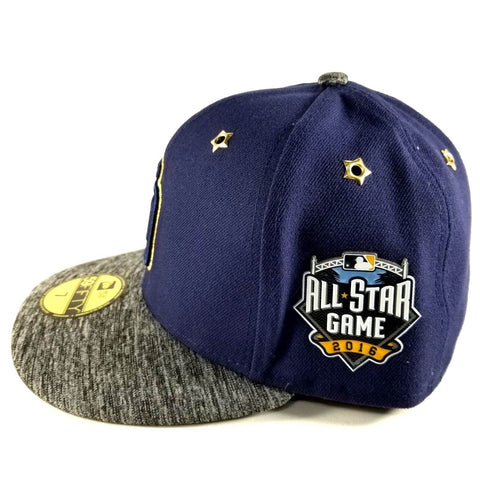 NEW ERA SAN DIEGO PADRES 2016 ALL STAR GAME BLUE 59FIFTY CAP Size 7 1/4 - Teammvpsports