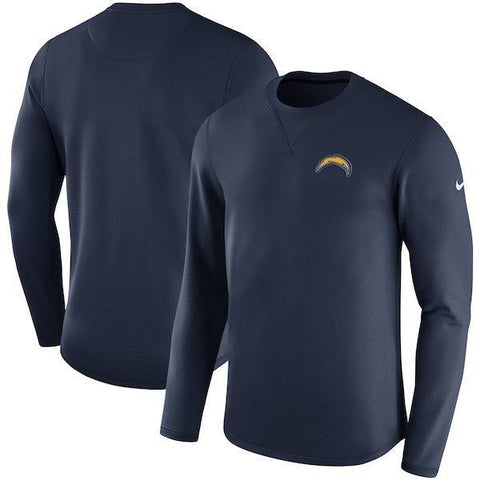 Nike Los Angeles Chargers Sideline Modern Crew Blue Sweatshirt Size 2XL - Teammvpsports